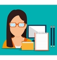 Business consulting graphic vector image