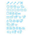 Cleanse Icons Set vector image vector image