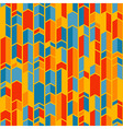 Colorful chevron pattern vector image