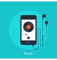 Music Player vector image vector image