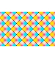 Abstract vibrant background with squares vector image