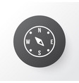 compass icon symbol premium quality isolated vector image