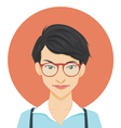 Geeky Girl vector image