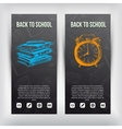 Hand drawn  Back to School vector image