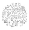 Creative Icon Doodle vector image