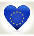 EU flag European union vector image
