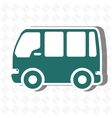 travel by bus design vector image