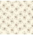 Seamless Pattern with Envelopes vector image