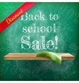 Back to school sale plus EPS10 vector image