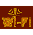 wireless symbol vector image
