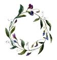 Flower wearth vector image