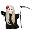 Cute death vector image