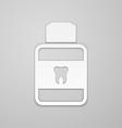 Mouthwash vector image