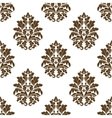 Damask style arabesque pattern vector image vector image
