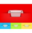 colour labels vector image