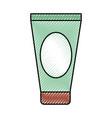 cream spa product icon vector image