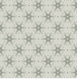 Gray Vintage Graphic Seamless Pattern vector image