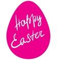 Easter egg - Happy Easter vector image