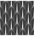 Design seamless diamond geometric pattern vector image