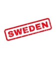 Sweden Rubber Stamp vector image