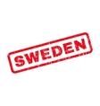 Sweden Rubber Stamp vector image