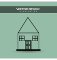 house drawn design vector image