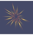 Star Burst Isolated vector image