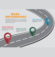 street road map on checkered background business vector image