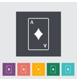 Play card vector image vector image