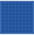 Blueprint background vector image