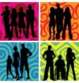groups of people vector image vector image