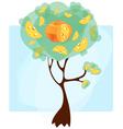 cheese tree vector image