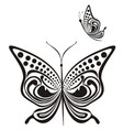 fancy butterfly vector image vector image