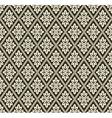 Decorative geometric pattern vector image