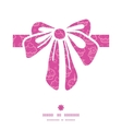 colorful cupcake party gift bow silhouette pattern vector image vector image