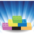 building blocks vector image