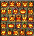 Halloween shabby background vector image