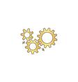 mechanism computer symbol vector image