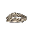 roll of ship rope cartoon