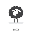 Sheep design vector image
