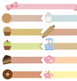 tag bakery vector image vector image