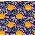 Halloween seamless pattern 3 vector image