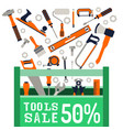sale repair tools vector image