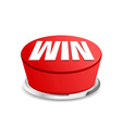 Time to win button sign template vector image vector image