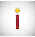 Fire Cracker for Chinese New Year vector image