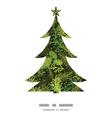 evergreen christmas tree Christmas tree silhouette vector image
