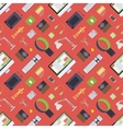 Seamless pattern with items from the digital vector image