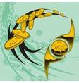 Coins design set vector image vector image