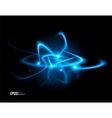 abstract energy formation - blue theme vector image