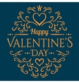 Calligraphic pattern with heart and Will you be my vector image